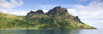 Waya Island in Fiji
