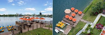 Westgate Palace Resort, Outdoor Lounge and Boat Launch