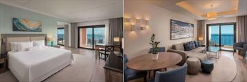 Junior Suite and Luxury Bay Suite at The Westin Dragonara