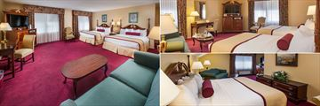 White Mountain Hotel and Resort, Suite Bedroom, Two Double Bed Room and Deluxe King Suite
