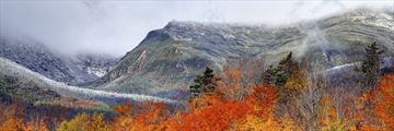 The White Mountains in the autumn