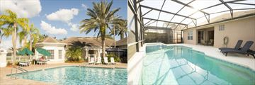 Windsor Palms Resort Homes, Outdoor and Covered Pool