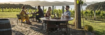 Wine tasting in the Bay of Islands