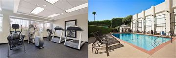 Fitness Centre and Pool at Wyndham Santa Monica Beach At The Pier