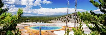 Yellowstone Grand Prismatic Springs