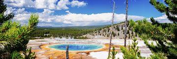 Yellowstone Grand Prismatic Springs