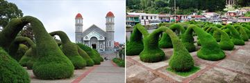 Zarcero Church & Carved Evergreen Gardens, Costa Rica