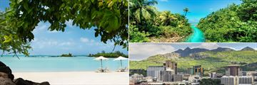 Zilwa Attitude Beachfront, Mauritius Jungle and Creek & Port Louis