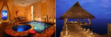 Zoetry Paraiso de la Bonita Riviera Maya, Spa Jacuzzi and Massage on Pier