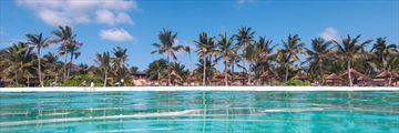 Zuri Zanzibar, View of Resort from Beach