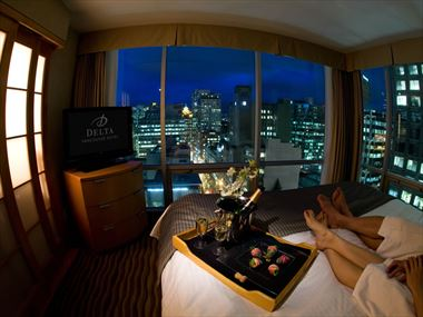 Corner view suite