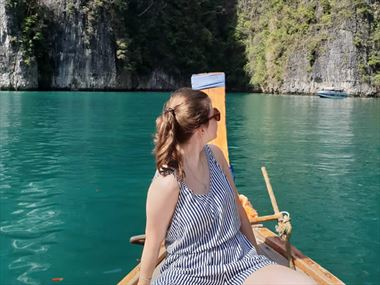 Karolina explores the delights of Thailand for the first time