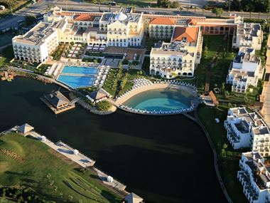 Aerial view of The Lake Spa Resort