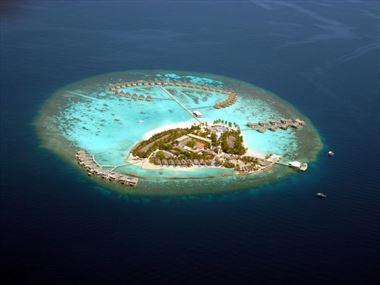 Aerial view of Centara Grand Island Resort & Spa