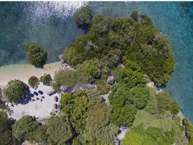 Aerial View of The Menjangan Resort Bali