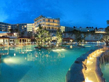 Exterior view of Amfora Hvar Grand Beach Resort