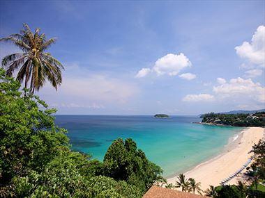 Beach views from The Shore at Katathani