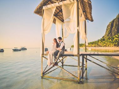 Beach Wedding, Lux Le Morne