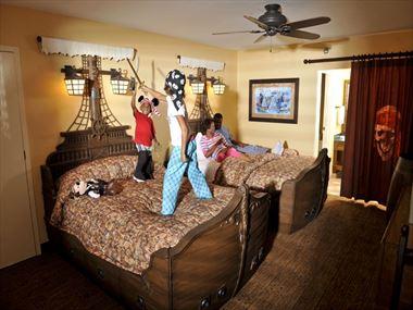 Pirate Room at Disney's Caribbean Beach Resort - A Disney Moderate Resort