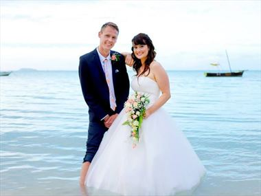 Daniel & Samantha share their Mauritius Wedding Story