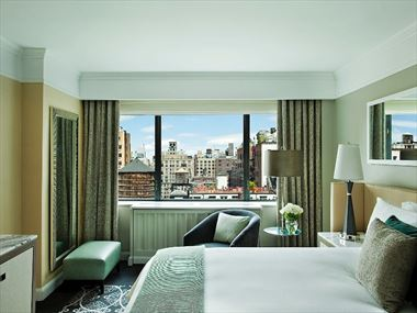 Terrace Suite bedroom, Loews Regency New York