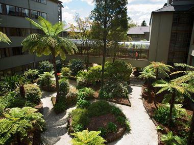 Millennium Hotel internal garden