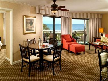 Omni Hilton Head Oceanfront Resort Oceanfront Suite