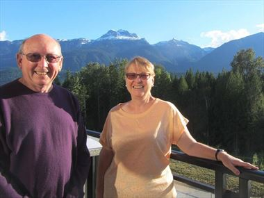 Dining at Revelstoke BC