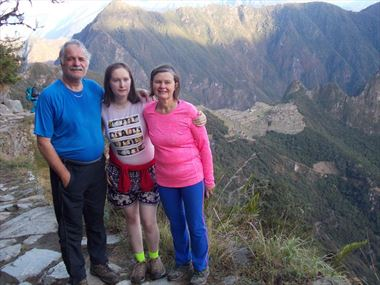 Pat McCann's Family share their Peruvian holiday story