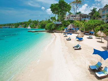 Royal Plantation beach at Sandals Royal Plantation Ocho Rios