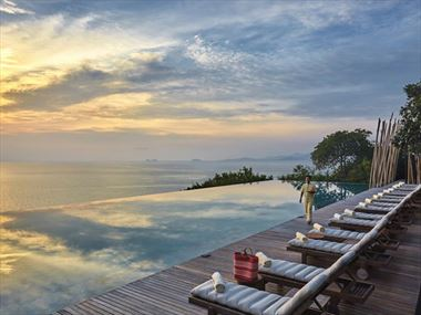 Main Pool at Six Senses Samui