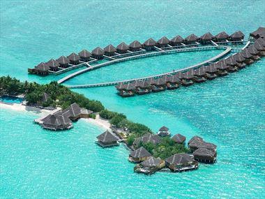 Aerial view of Taj Exotica Resort & Spa