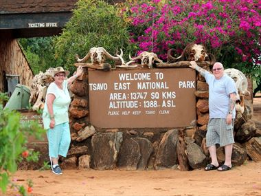 Walter & Betty share their Kenya holiday story