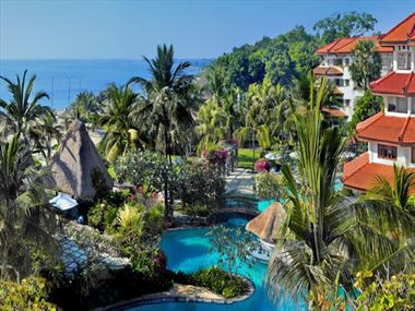 View of Grand Mirage Resort and Thalasso Spa