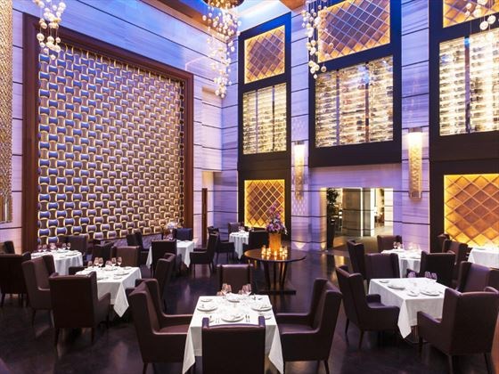 55th and 5th grill restaurant at St Regis Saadiyat Island