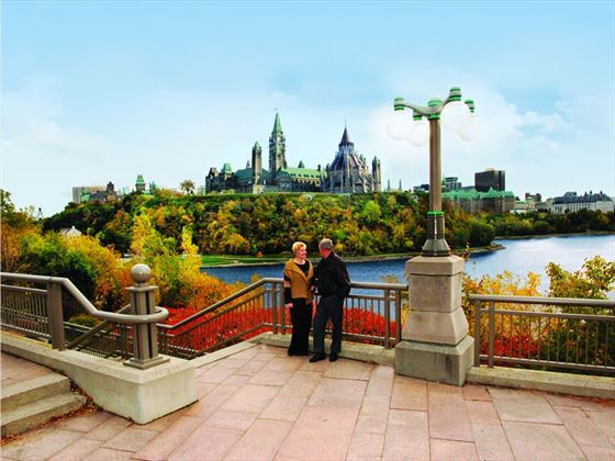 Alexandra Bridge Lookout, Ottawa