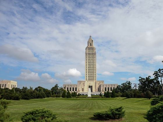 Baton Rouge Louisiana State Capitol