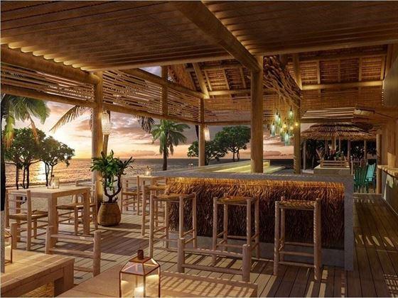 Beach bar at Preskil Island Resort