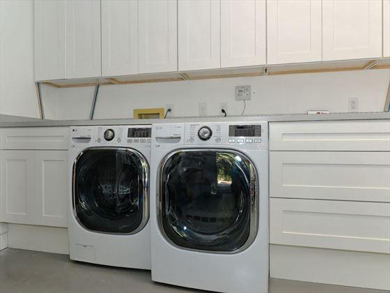 Typical Bradenton Sarasota Area Home - Laundry facilities