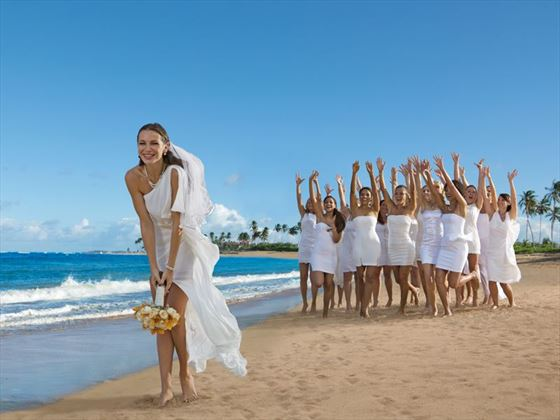 Fun wedding moments at Breathless Punta Cana Resort & Spa