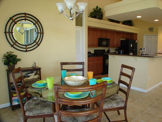 Example of a Cape Coral Area Home - Breakfast Area