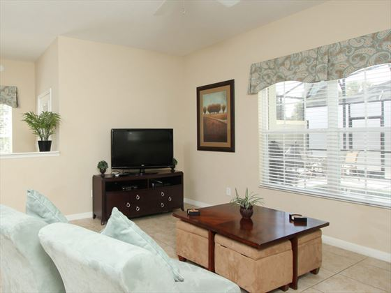 ChampionsGate Resort Townhomes living area
