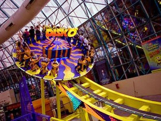 The Adventuredome - Disk0 ride