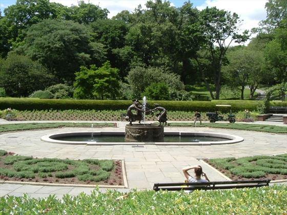 The north French Garden, Conservatory Garden