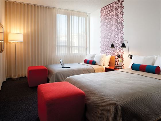Deluxe Double Guestroom at The Custom Hotel