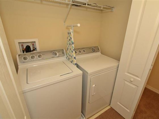 Example of a Disney Area Platinum Townhome Laundry Room