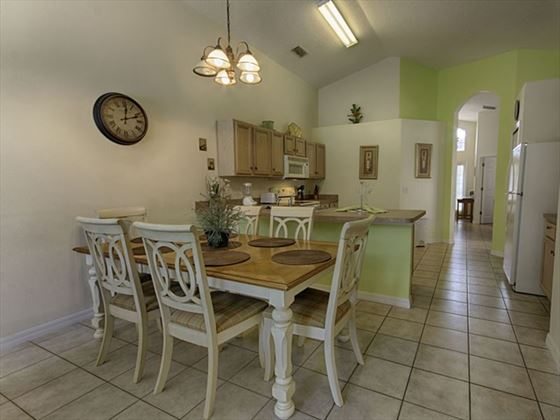 145 Emerald Island Dining Area and Kitchen