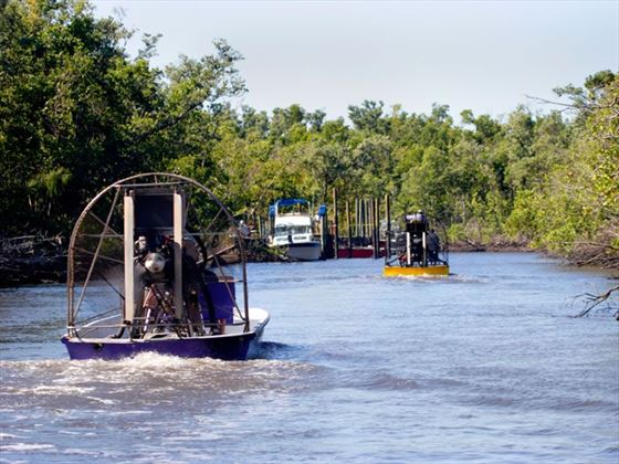 Airboat, Everglades National Park
