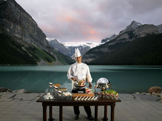Chef by Lake Louise
