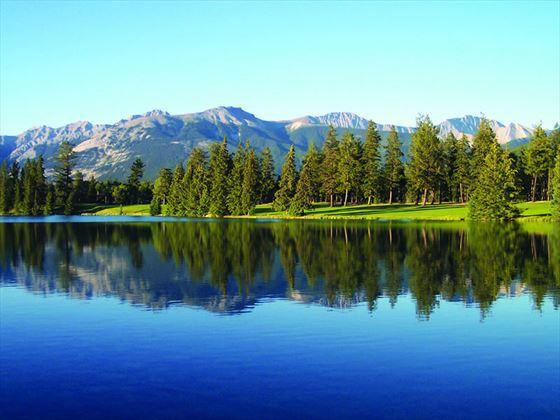 Golf Course across Lac Beauvert